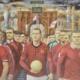 Michael J. Browne, 'Manchester United in Procession,' est. £10,000-£15,000