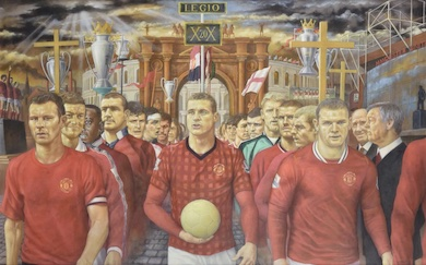 Homage to Manchester United set to score at Dreweatts Oct. 12 auction