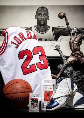 Michael Jordan memorabilia set to score at Hindman Oct. 26