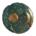 Nebra sky disc, Germany, about 1600 BCE. State Office for Heritage Management and Archaeology Saxony-Anhalt, Juraj Lipták