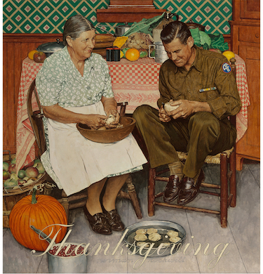 Thanksgiving-themed Rockwell likely to reach $6M