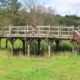 The wooden bridge that indirectly inspired A.A. Milne to write the Winnie the Pooh books sold for £131,625, or about $179,000, on October 6 in England.