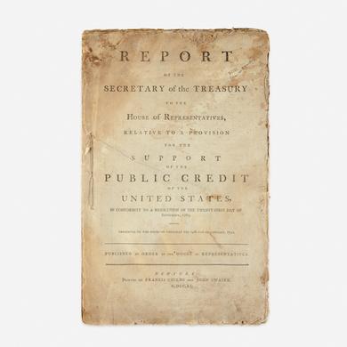 Freeman's presents collection of Alexander Hamilton material Oct. 25