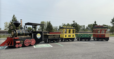 Rivich Auction's Oct. 21 Fall Classic rolls out like-new children's amusement park train
