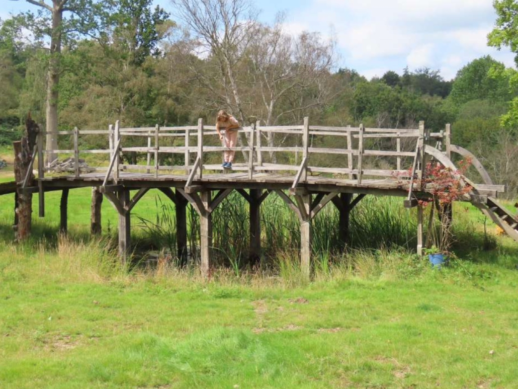 The bridge on which A.A. Milne and his son, Christopher Robin, created the game of Poohsticks, which in turn inspired Milne to write the Winnie the Pooh books, will go to auction October 5.