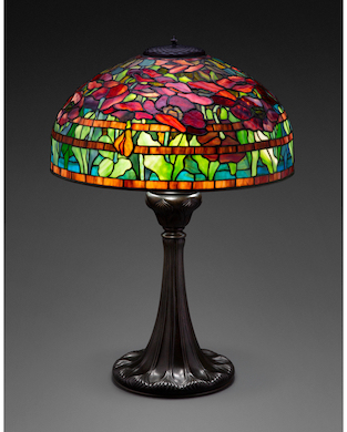 Tiffany Oriental Poppy lamp a prized entry in Oct. 28 Heritage sale