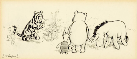Winnie the Pooh: Collectors still love that 'silly old bear'