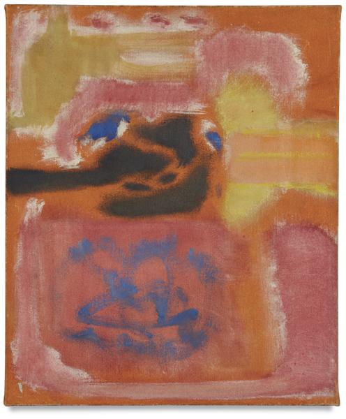 Mark Rothko's pivotal 1947 oil on canvas, 'No. 9,' sold for $700,000 plus the buyer's premium in November 2010 at Phillips. Image courtesy of Phillips and LiveAuctioneers