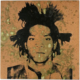 Andy Warhol, 'Jean-Michel Basquiat,' executed in 1982, estimate on request. Image courtesy of Christie's Ltd. 2021
