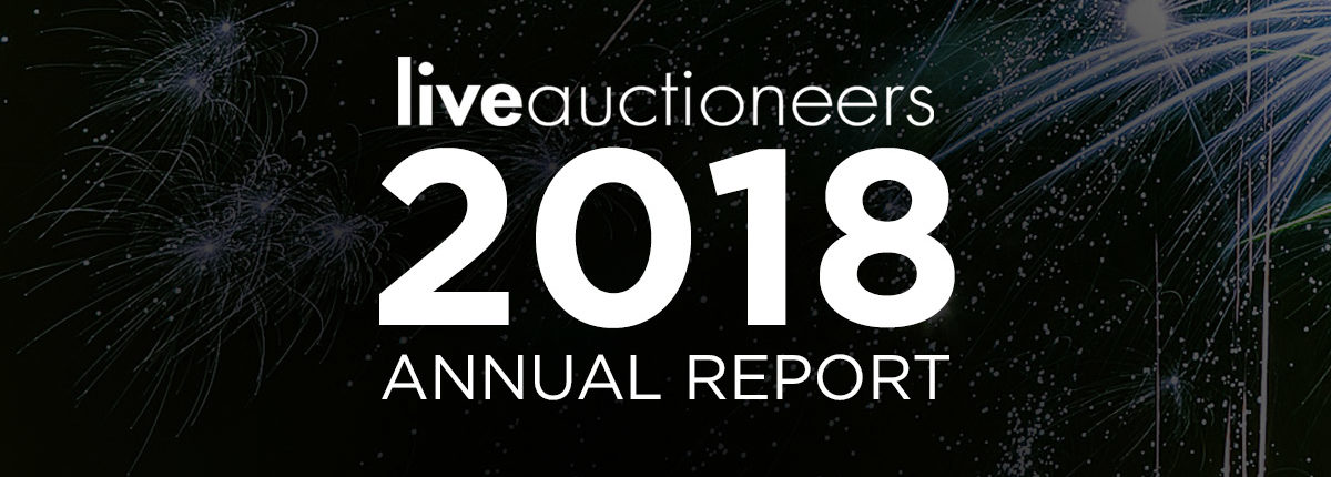LIVEAUCTIONEERS 2018 ANNUAL REPORT